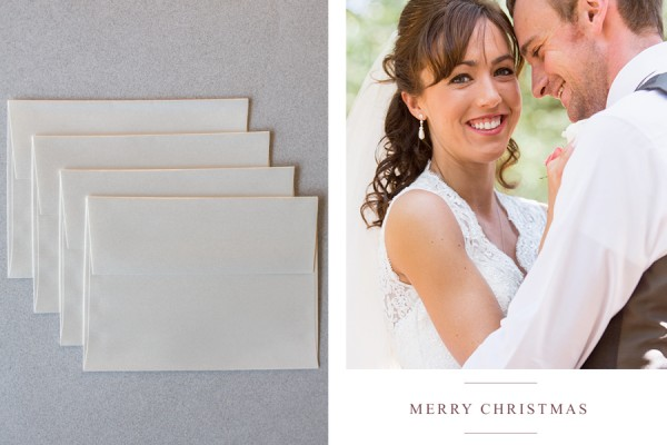 Luxury Personalized Christmas Cards